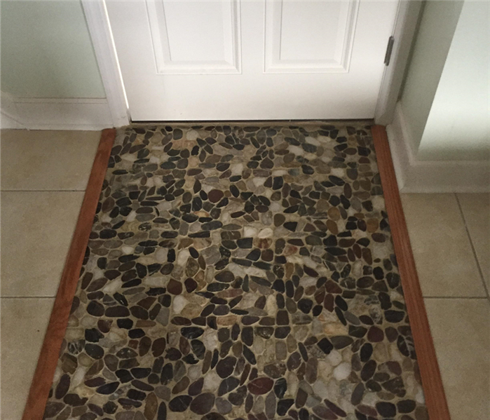 New tile entryway by SERVPRO of Greater St. Augustine After