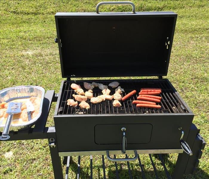 Warehouse Cookout by SERVPRO in St. Augustine