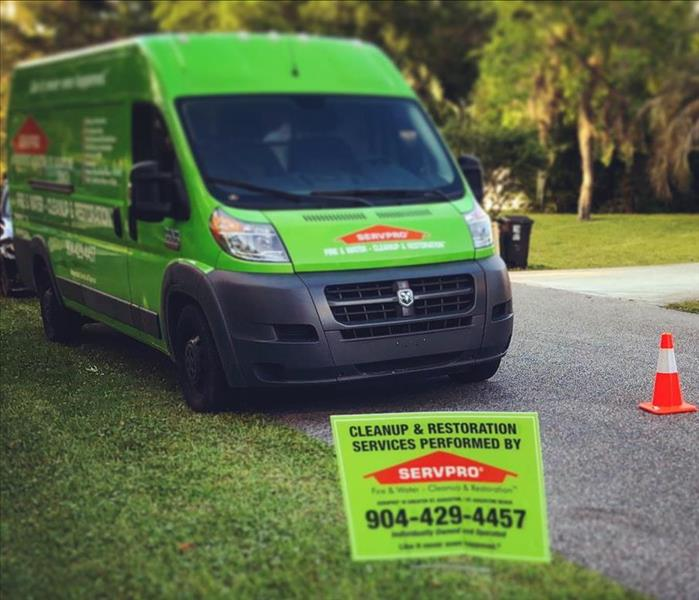 SERVPRO's St Augustine location is quickly on the scene!
