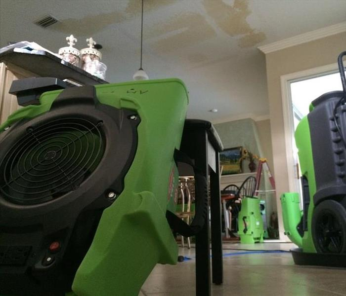 Targeted drying is key to Water Damage Restoration in St. Augustine.