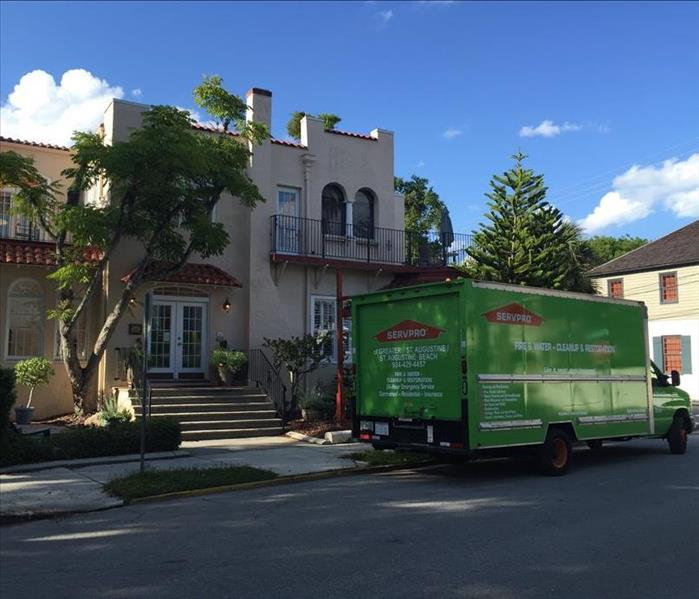 Emergency services by SERVPRO's St. Augustine location