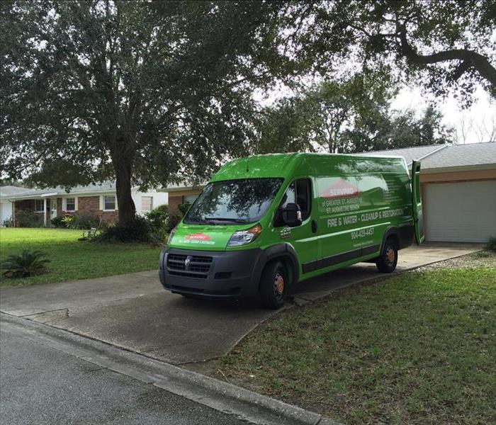 SERVPRO is ready when you are in need St Augustine!!!