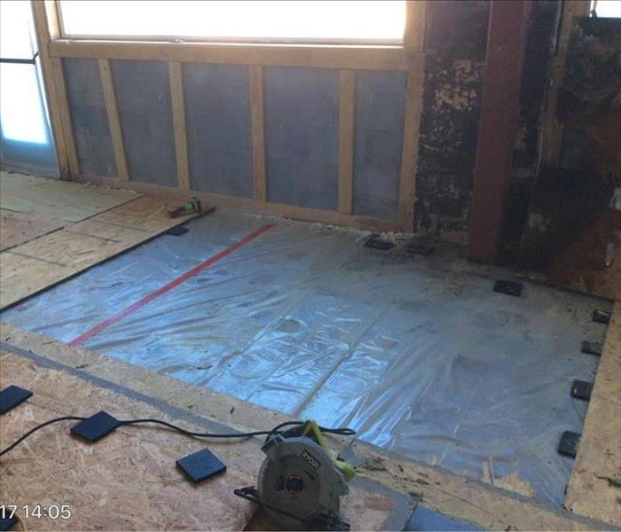 Subfloor Removal in Historic Building