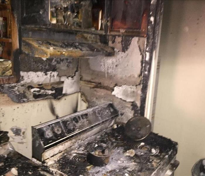 Grease Fire in St. Augustine Apartment