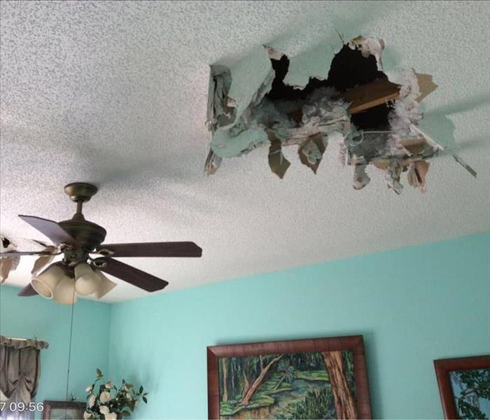 Ceiling Damage in Ponte Vedra