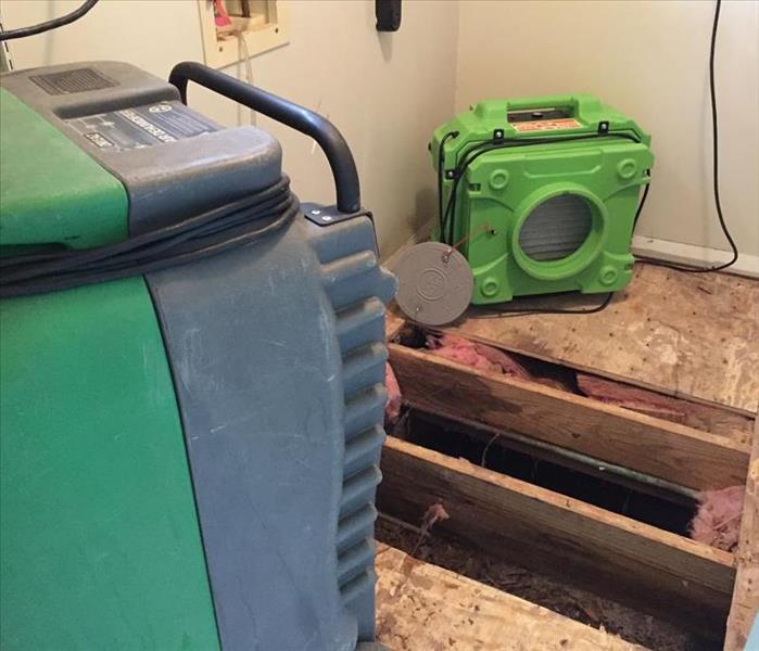 Water Damage comes in all forms and shapes in St. Augustine, Fl.