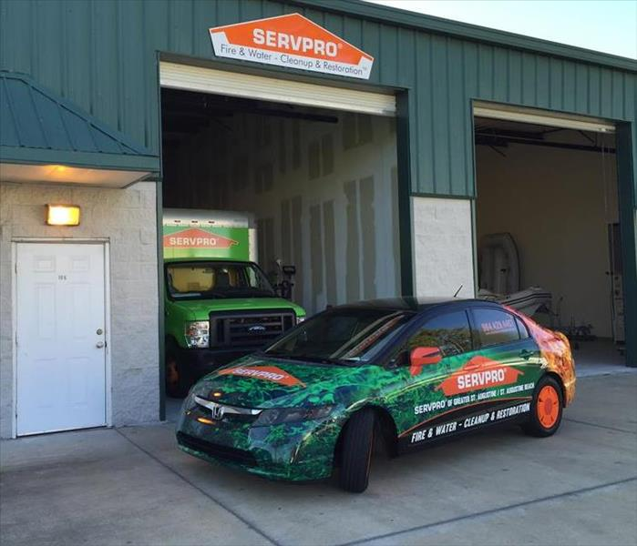 SERVPRO in St. Augustine is glad to help!