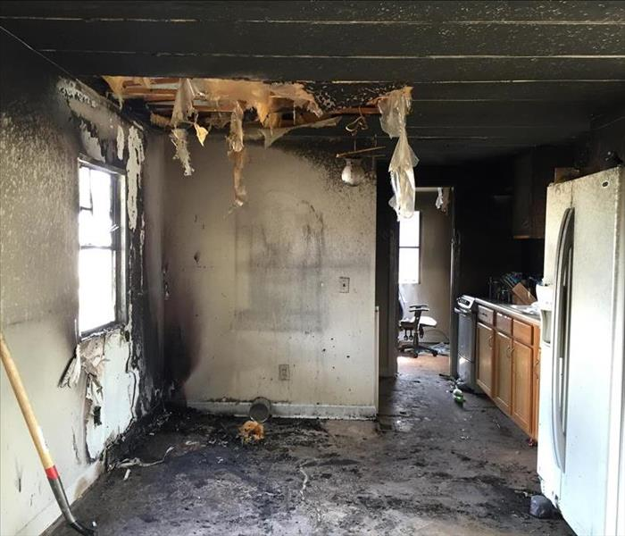 Fire Damage Update from a Fire Damage job by SERVPRO's St. Augustine location.