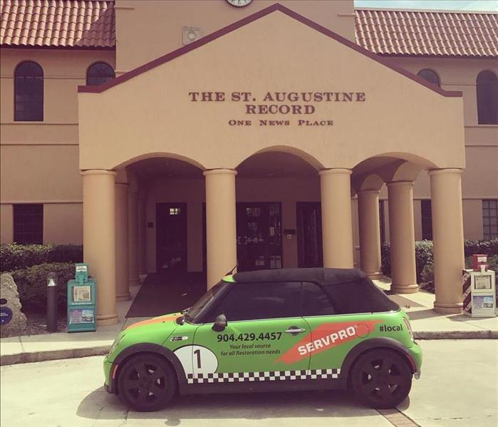 Water Damage 5 Reasons to use SERVPRO's St Augustine location for all restoration