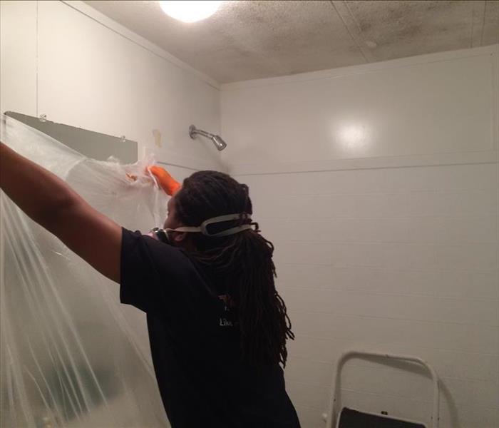 Biohazard Mold Remediation by SERVPRO located in St. Augustine