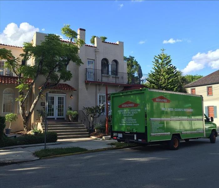 Water Damage Commercial Damage Restoration by SERVPRO's St. Augustine Location