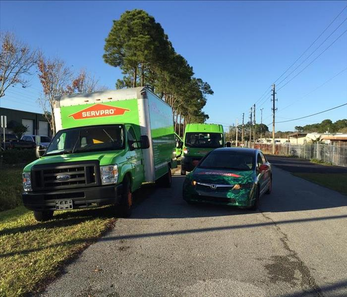 Storm Damage NearSay article written about SERVPRO's Emergency Services in St. Augustine.