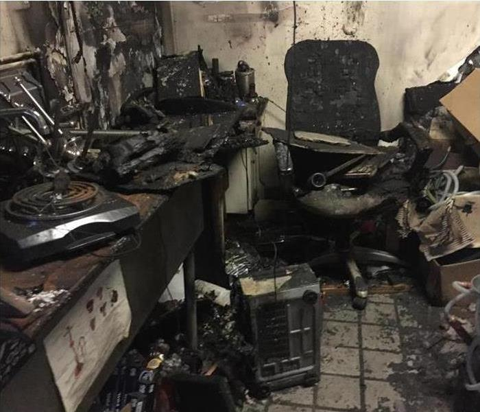 Fire Damage Fires Interrupt Business SERVPRO Helps Get Business Going Again
