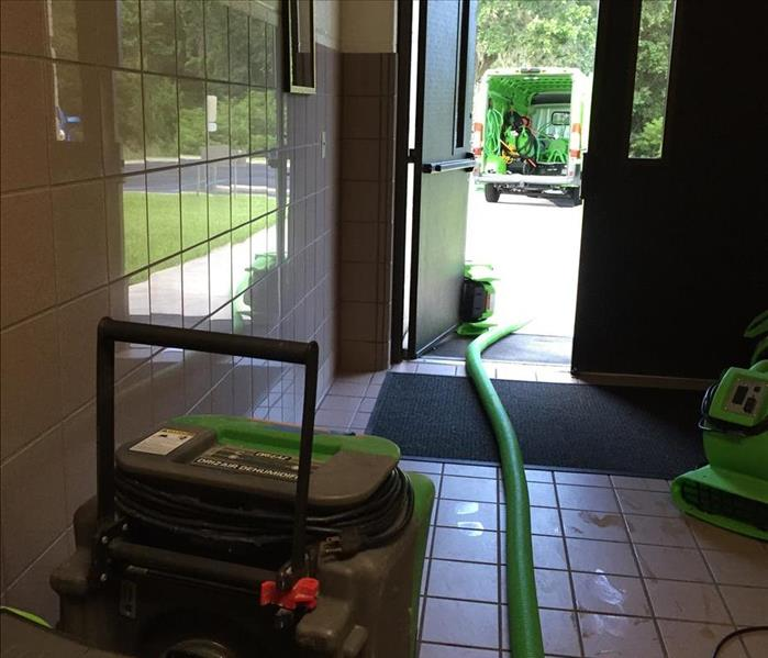 Commercial SERVPRO is St. Augustine's choice for all Commercial Restoration