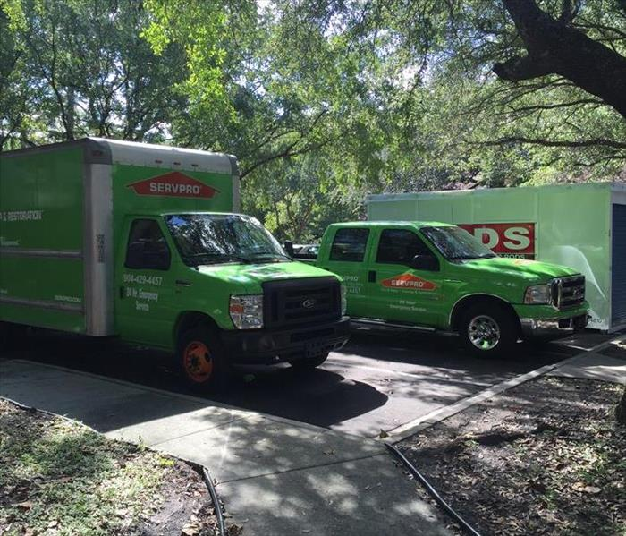 Fire Damage Small fire can cause a lot of damage in Jacksonville/Mandarin Area - SERVPRO in St Augustine can!