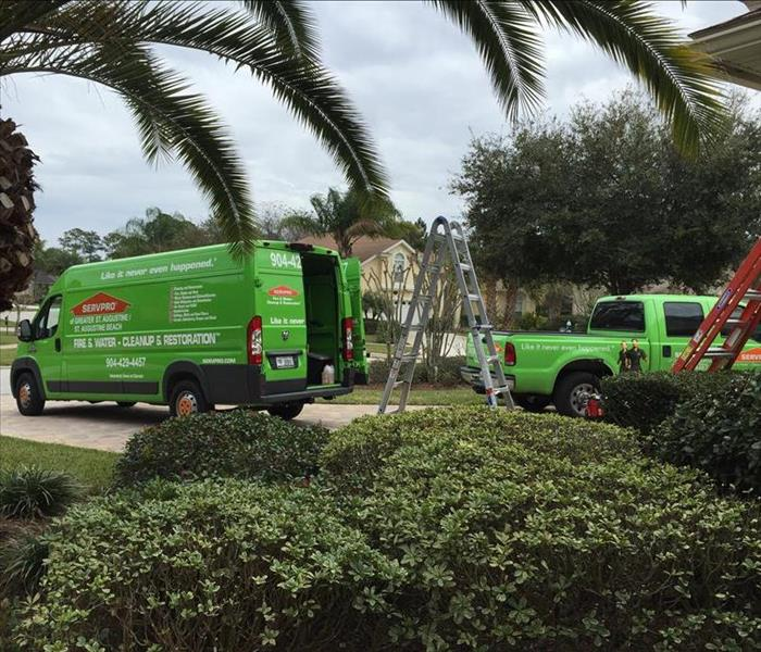 Water Damage SERVPRO in St. Augustine is a proven Water Damage Restoration expert.