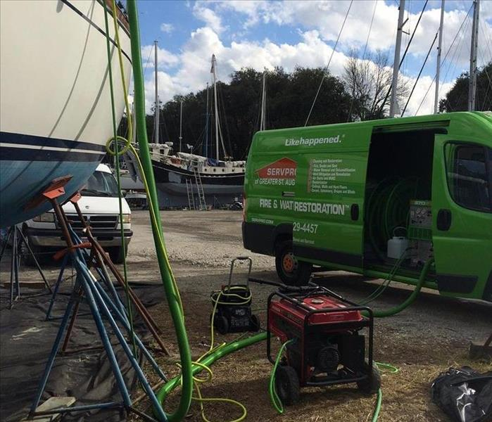 Mold Remediation Mold Remediation in St. Augustine, SERVPRO style!