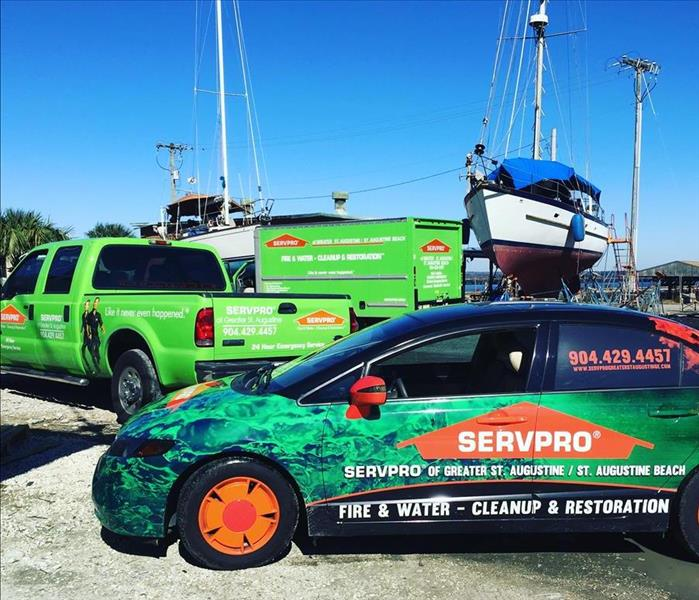 Biohazard RV and Boat Mold - SERVPRO located in St. Augustine is here to help - we provide free estimates.