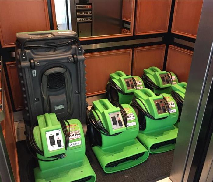 Commercial So what does a SERVPRO do? SERVPRO's St. Augustine location does a lot!