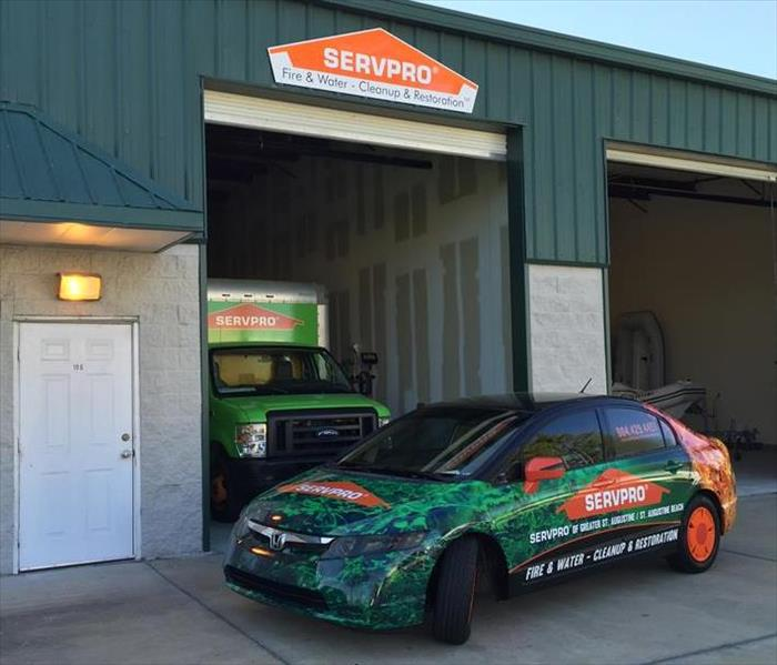 General Mold Remediation and Cleaning estimates by SERVPRO in St. Augustine!