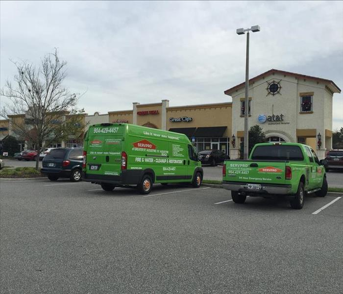 Commercial 3 Reasons to use SERVPRO of Greater St Augustine for all commercial restoration services