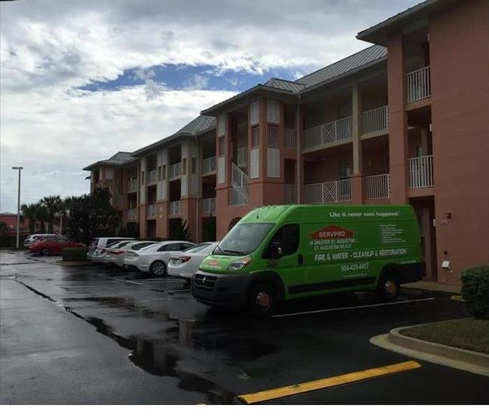 Mold Remediation Mold Remediation in progress at this St. Augustine condo