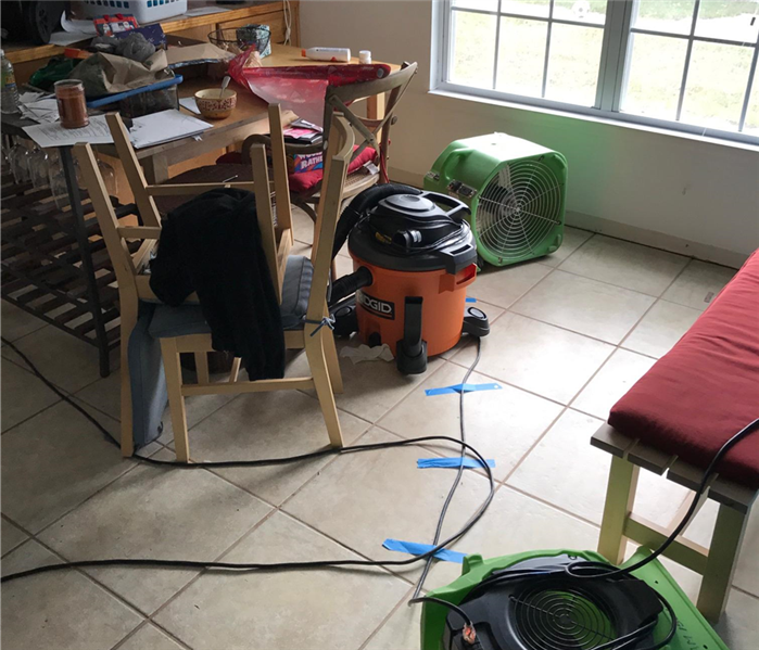 Water Damage Damage Restoration by SERVPRO in St. Augustine - 3 customer cases
