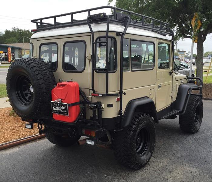 General 1969 Toyota Land Cruiser is the next SERVPRO truck?!