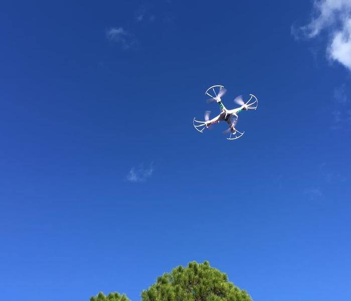 Community SERVPO's own drone in St. Augustine