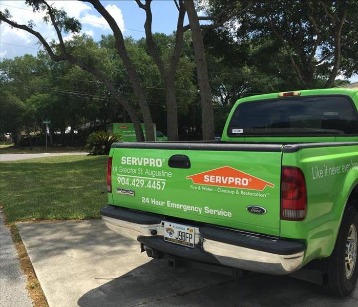 Water Damage A day in the life of SERVPRO's St. Augustine location. Part VI