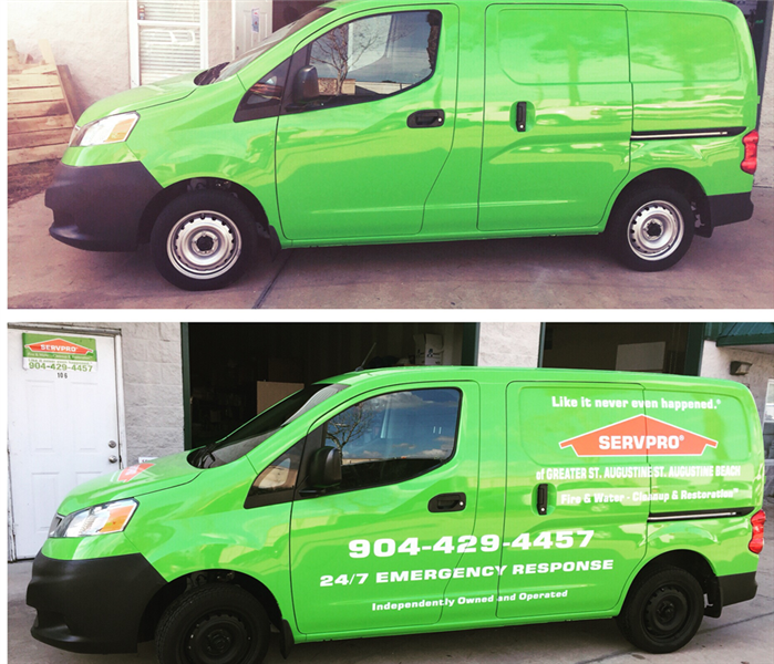 Fire Damage SERVPRO's Fleet Can Handle Anything!