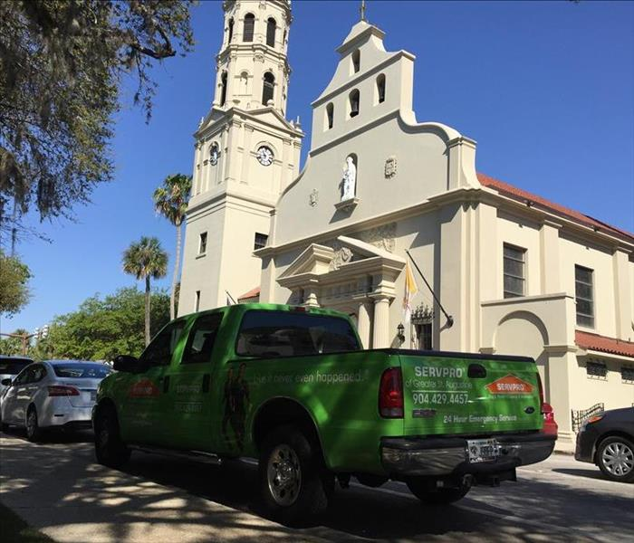 Community A day in the life of SERVPRO's St. Augustine location.