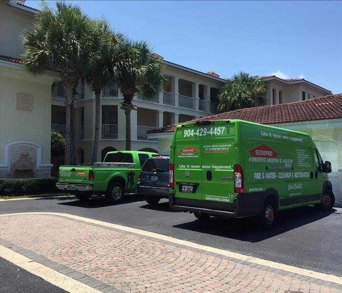 Water Damage Damage Restoration by SERVPRO in St. Augustine - 3 customer cases.