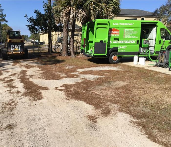Water Damage Sewage Backup, Water Damage, all in St. Augustine all saved by SERVPRO!!!